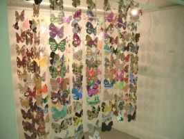 Butterfly Installation II by NevaeHLia