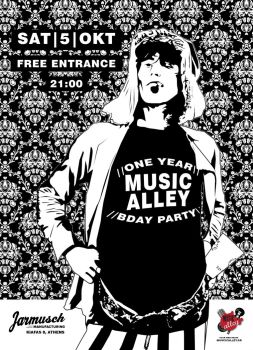 One Year MusicAlley - BDay Party by angel1b