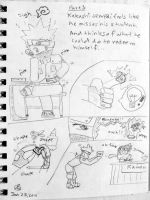 a Naruto comic doodle by Bkitten