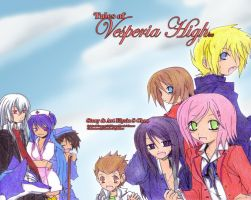 Tales of VESPERIA HIGH by Eko-chan