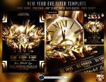 New Year Eve Flyer Template by ranvx54