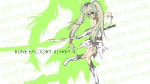 Rune Factory Wallpapers - Frey by CLeRu087
