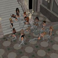 Gloved and Booted Ballroom Battle Scene 14 wit by gloveslover99