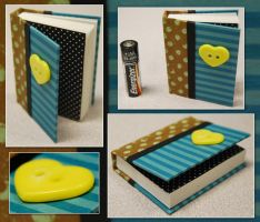 Funky Heart Mini Book by funkmaster-c