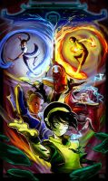 Avatar the last airbender by Nexus-Storm