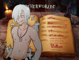 OtherWorlde: William App by Bro-Hime