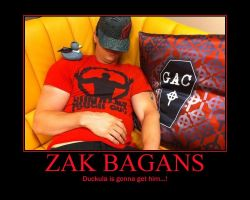 Zak Bagans motivational7 by KanameRienhartXIII