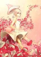 Young Lady Mushroom by BloodlineV