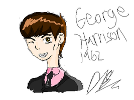 George Harrison 1962 by TheAwesomeNordics