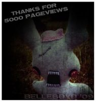 Thanks for 5k by BelleBoyd