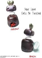Your Love Gets Me Twisted by MotherMayIjewelry