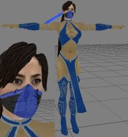 Kitana Kitbash by icemember