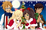 Lily,Vincent,Beckie, and Xavier by Ratchetgirlrules98