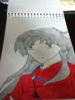 inuyasha coloured by the-awesomest-one