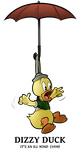 1939 - Dizzy Duck by BoscoloAndrea