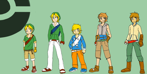 Pokemon Trainer Link(s) by LikeNo