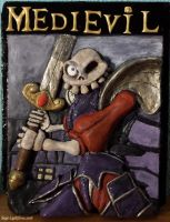 Medievil Relief by Siege-Lightforce