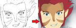 Lion-O: Before and After. x'D by 112233Rachy