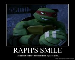 Raph's Smile by Mikichan17