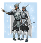 Leafmen winter armor design by TheFandomWhore