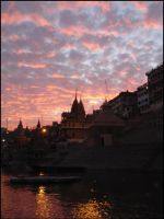 Varanasi Sunset - III by SilverDolphin