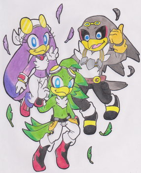 Birds Of A Feather Flock Together by SassyMelvin