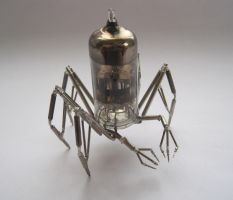 Vacuum Arachnid No 2 by AMechanicalMind