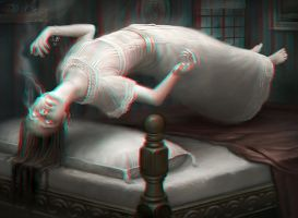 Ghostly Possession 3-D conversion by MVRamsey