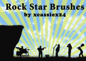 Rock Star Brushes by xCassiex24