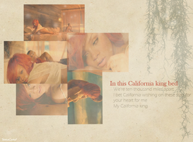 California King Bed by SoniaCosta
