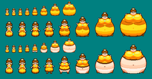 Daisy Inflation Sprites V2 by masterd987
