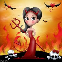 Skultic Evy Queen of the Hell by Myria-Moon by Myria-Moon