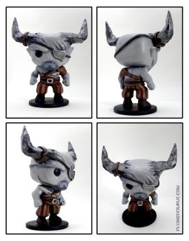 Custom The Iron Bull Funko Pop by FlyingSciurus