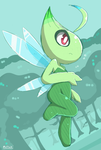 Celebi by Mutuki