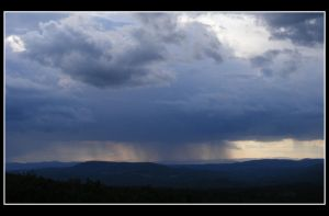 Rainfall from Afar by PyroPaul