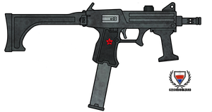 Fictional Firearm: HC-108 Mk III Submachine Gun by CzechBiohazard