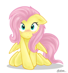 Fluttershy - Cute - Color by Ambris