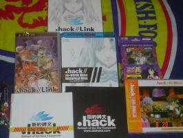 .hack LINK along with CD and TCG by Scygoku