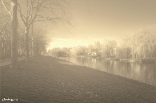 Fog in the morning by Guidonr1