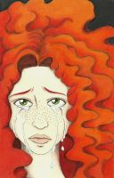 Clary in Tears by mlatimerridley