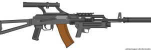 AK-47 customized by jon646an2