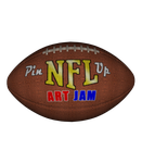 NFL Pin Up Art Jam Logo '14 by ImfamousE