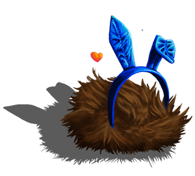 Le Tribble Bunny by SBDec