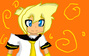 Different Way of Drawing Len by AskLenKagamine02