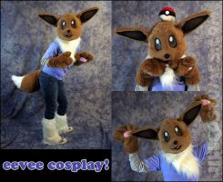 Eevee Cosplay by jillcostumes