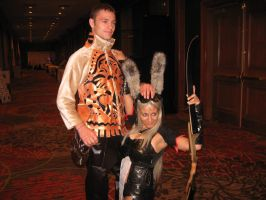 Balthier and Fran by whitetigergp