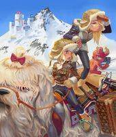 Winter Riders by NIW