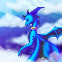 Cloud High by vdragoness
