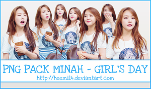 PNG Pack Minah by HeeMi14