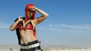 Yoko - Gurren Lagann - Dusty Sniper by shadowhearts